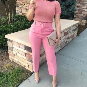 Zara pink Trousers